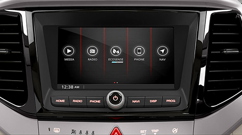 17.78 cm Touchscreen Infotainment with GPS Navigation/ Bluetooth/AUX/USB, Apple CarPlay & Android AutoTM