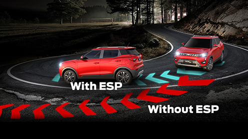 Electronic Stability Program with Roll Over Mitigation & Hill Start Assist