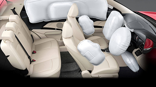 First in segment 7 Airbags
