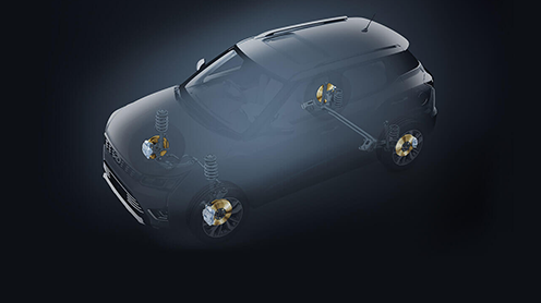 First-in- segment All 4 disc brakes (Among sub 4 metre Compact SUVs)