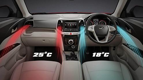 First-in- segment Dual-zone Fully Automatic Temperature Control