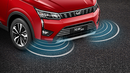 First-in-segment Front Parking Sensors