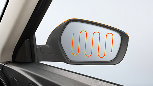 First-in- segment Heated ORVMs with LED Turn Indicators