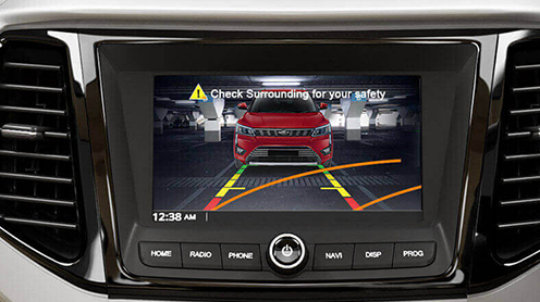 Rear Parking Camera With Dynamic Assist